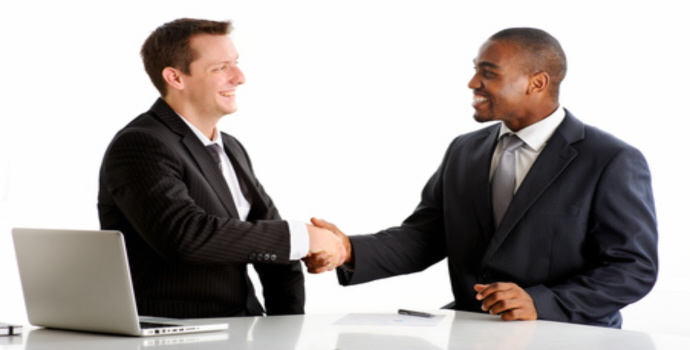 Handshake for the future